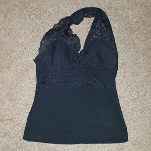 Tops - Lace halter top